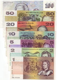Paper Australian dollar notes no longer part of the currency. My Childhood Memories, Childhood Toys, Australian Money, Australian Vintage, Back In My Day, Australia Day, Victoria Australia, 90s Nostalgia, Maori