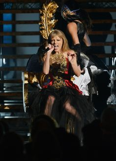Performed at AMAs 2012! I knew you were trouble.