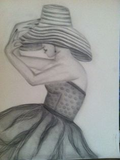 527069cfc8 Pencil Drawing of women by Jenny Graphite Drawings