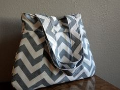 Gray chevron stripe!!  CUTE!!!