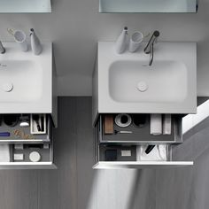 51 #bathroom #vanities are #beautiful and functional, providing ample #storage and #organization while maintaining #modern #minimalism