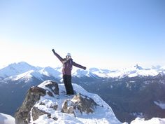 Amazing view in Whistler, Canada, taken whilst doing a ski season http://www.oysterworldwide.com/gap-year/canada-whistler-blackcomb-ski-instructor-jobs/