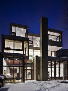 RAVINE #HOUSE by Drew Mandel #Architects - Tom Arban Photography