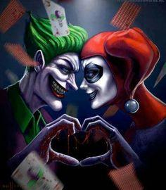Harley quinn and joker love