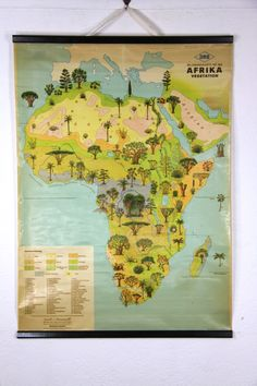 Inspire lemur learning in your classroom with the island of lemurs vintage africa tree map gumiabroncs Images