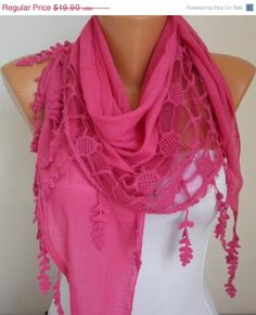 Lace Scarf   scarf shawl  Sale scarf   Free scarf  Hot by anils, $17.91