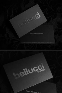 A new collection of stylish rounded corner business cards bellucci stores reheart Image collections