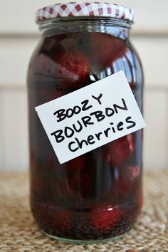 Bourbon Cherries Recipe - RecipeGirl.com