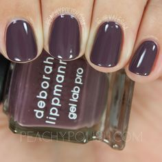 Deborah Lippmann Love Hangover | Fall 2016 After Midnight Collection | Peachy Polish