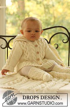 Free Pattern: b17-2 Jacket, socks and blanket. Love the long socks!