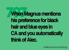 The Infernal Devices, The Mortal Instruments #Magnus #Alec