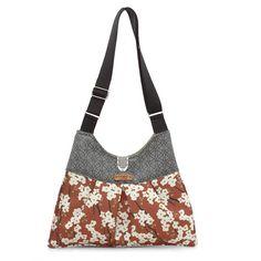 Kennedy Flowering Pyrus in Rust Handbag $169