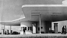 40s gas station, Frankfurt