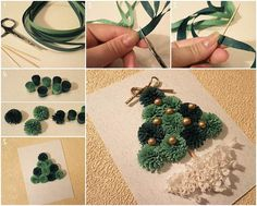 Creative Ideas - DIY Mini Quilling Christmas Tree | iCreativeIdeas.com Follow Us on Facebook --> https://www.facebook.com/iCreativeIdeas
