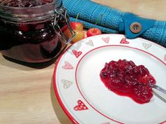 Gorgeous Red Cranberry and Cherry Sauce Recipe