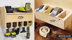 36 DIY Ideas You Need For Your Garage | DIY Joy Projects and Crafts Ideas