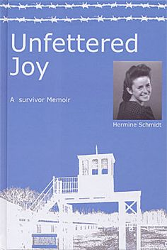 """""""Because of her religious beliefs as one of Jehovah's Witnesses. After a harrowing """"trial"""" before a Nazi judge, Hermine is sent to the Stutthof concentration camp, where she endures and witnesses unspeakable horrors."""" Author, Hermine Schmidt, 2005"""
