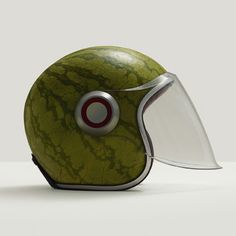 A matter of taste, watermeloen helm Snowboards, Photo Food, Grenade, Art Graphique, Motorcycle Helmets, Green Motorcycle, Motorcycle Fashion, Food Design, Belle Photo