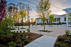 The Seaview Hotel and Golf Club in Galloway, NJ, is home to two picturesque golf courses and a world class hotel and spa. Hotel Reception, Hotel Wedding, Wedding Venues, Wedding Day, Atlantic City, Outdoor Settings, Resort Spa, View Photos, Sidewalk
