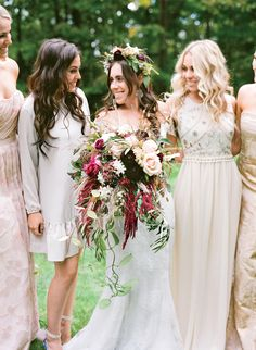Overflowing Burgundy Bouquet with Dahlias and Roses | Arena's https://www.theknot.com/marketplace/arenas-rochester-ny-311121 | Monique Lhuillier https://www.theknot.com/marketplace/monique-lhuillier-new-york-ny-615373 | Simply Beautiful Events https://www.theknot.com/marketplace/simply-beautiful-events-rochester-ny-220241 | Lacie Hansen Photography https://www.theknot.com/marketplace/lacie-hansen-photography-santa-barbara-ca-888319