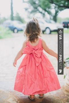 Yes - Bright Pink Silk Flower Girl Dress   photography by   CHECK OUT MORE GREAT FLOWER GIRL AND RING BEARER PHOTOS AND IDEAS AT WEDDINGPINS.NET   #weddings #wedding #flowergirl #flowergirls #rings #weddingring #ringbearer #ringbearers #weddingphotographer #bachelorparty #events #forweddings #fairytalewedding #fairytaleweddings #romance