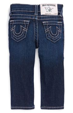 True Religion Brand Jeans 'Casey' Skinny Jeans (Baby Girls) available at #Nordstrom