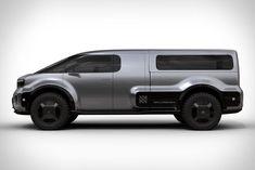 Futurnex: El vehículo Neuron EV T.ONE, ofrece variedad de opciones de uso Mercedes Benz Vans, Airstream Bambi, Electric Truck, Fender Bender, Truck Bed Covers, Future Transportation, Panel Truck, Neurons, Custom Vans