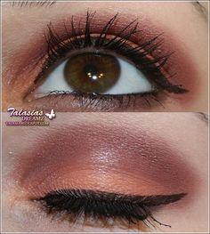 Brown Eye Make Up Datum: 31.05.2011  http://talasia.blogspot.de/2011/06/amu-p2-ship-ahoi-sail-away-face-bronzer.html