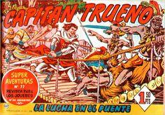 EL CAPITAN TRUENO,Editorial Bruguera,Victor Mora,Miguel Ambrosio Zaragoza Ambros,Sigrid de Thule,Elsa Pataky