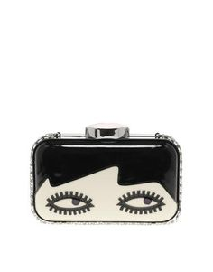 Lulu Guinness | Lulu Guinness Fifi Dolls Face Clutch At Asos