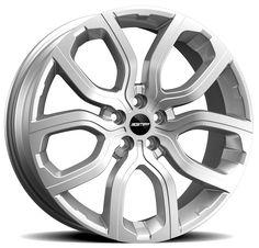 Evos Silver Alloy wheel / Cerchio in lega Evos Silver Side