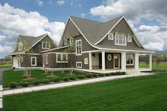 Cape Cod Shingle Style traditional exterior