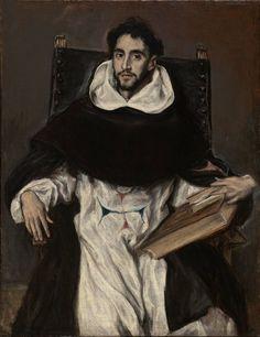 El Greco, Fray Hortensio Felix Paravicino, c. 1609
