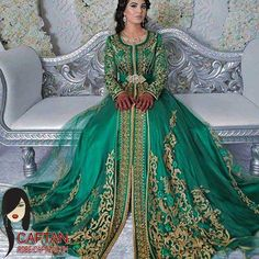 Collection Caftans la princesse 2016-2017