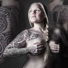 This would be cool sleeve to get.  The Freya Sleeve, by Uffe Be Wolfe.
