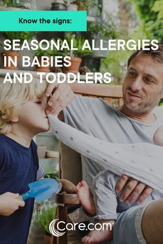 Seasonal Allergies In Babies And Toddlers: What Are The Symptoms And Treatment? Kids Allergies, Seasonal Allergies, Allergic Rhinitis, Caring Company, Job Posting, Parent Resources, Find Pets, Medical Advice, Kids Health