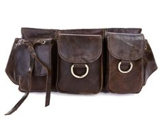 Hey, I found this really awesome Etsy listing at https://www.etsy.com/listing/159408641/leather-belt-bag-waist-bag-utility-easy