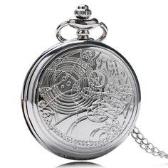 Doctor Pocket Silver Luxury Watch – uShopnow store