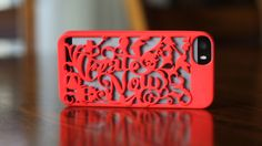 From Paul Trani 3D design and print your own Cellphone case √