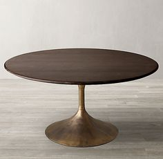Aero Wood Round Dining Table