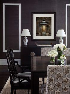 dining room by @Alexandra Kaehler - Luxe Magazine