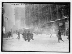 New York City Valentine's Day Blizzard of 1914, 100 years ago tomorrow [2/13/2014]