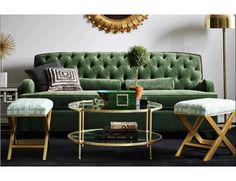 "Kristin Drohan Collection Simon 60"" Loveseat 
