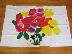 1972 MARIMEKKO Fabric Wall Hanging ONNEA