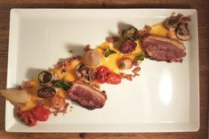 Wedstrijd Albert Heijn Pollemans en restaurant de Zwaan in Etten-Leur. Ik ben met dit recept, een van de 3 finalisten geworden. Sjalotten en tomaatjes Doe