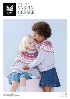 Kvalitet fra naturen siden 1879. Vi ønsker å inspirere deg – både med flott design og fantastiske garnkvaliteter. Dale Garn er din garanti for kvalitet og faglig kompetanse. Baby Barn, Children, Kids, Knitwear, Romper, Crochet Hats, Parenting, Knitting, Creative
