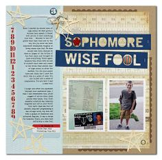 Colour Suite July Challenge with Summer Fullerton and guest designer Christa Paustenbaugh School Scrapbook Layouts, Scrapbooking Layouts, Scrapbook Cards, School Days, Back To School, The Fool, Challenges, Diy Crafts, Colours