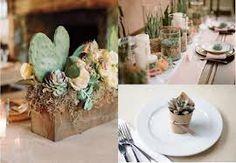centrotavola con piante matrimonio ecologico - Cerca con Google