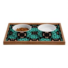 Lisa Argyropoulos Southwest Nights Pet Bowl and Tray | DENY Designs Home Accessories