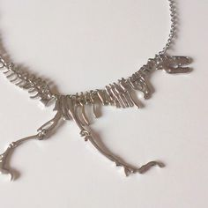 Dinosaur Bones Necklace. Jurassic Park. R-tex. 7 by artisandrashop